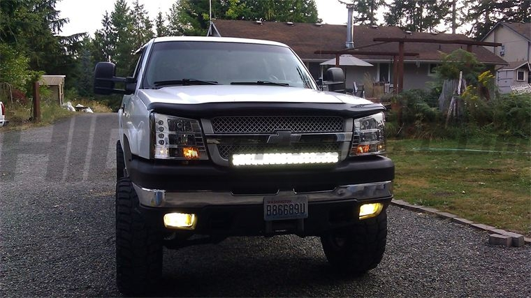 TOTRON 30u2033 DC Series LED Light Bar ...