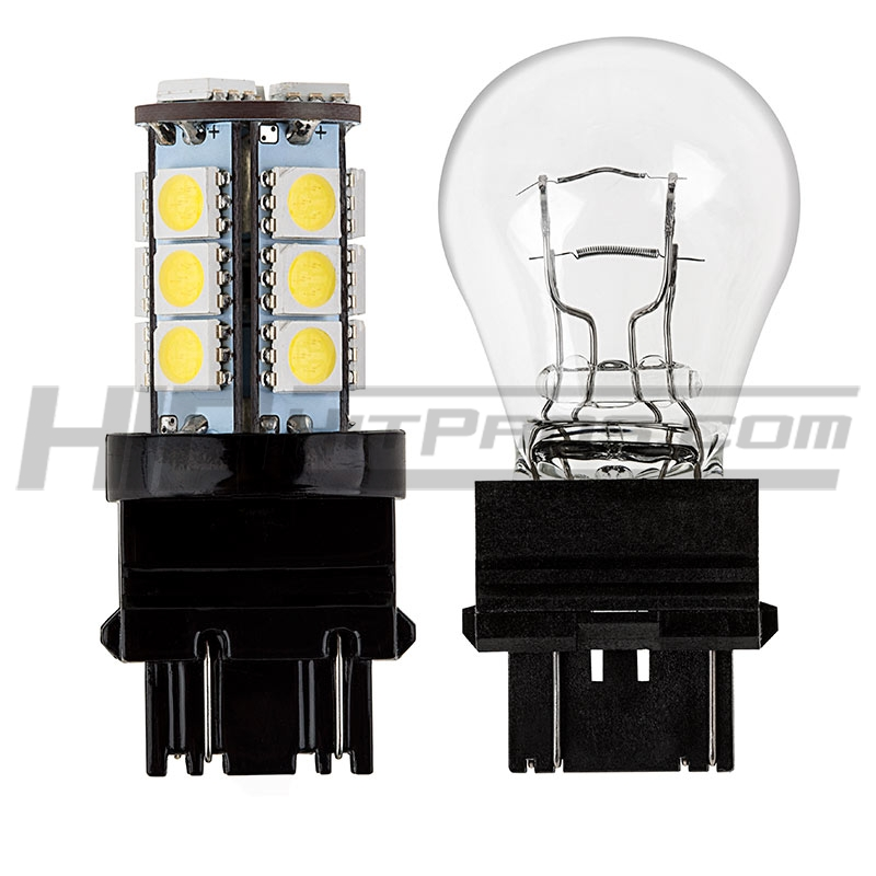 HID Kit Pros  3157 3057 4157 Bulb – SMD LED : Light Bulb 3157 Vs 3057