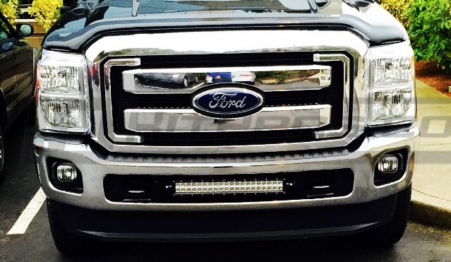 Ford F350 Super Duty 22 Inch Dual Row CREE LED Light Bar