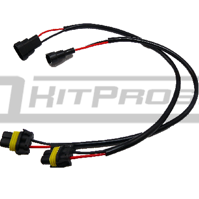 hid xenon bulb wiring harness pigtail
