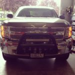 Chevrolet Silverado 22 Inch Dual Row Flood LED Light Bar