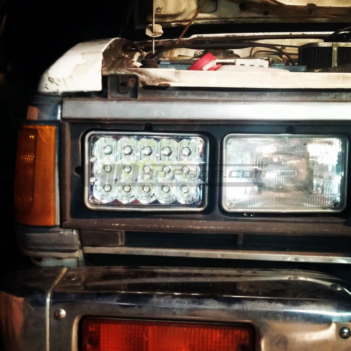 Led Headlights For Trucks >> 4x6 Sealed Beam To Led Headlight Conversion Hid Kit Pros