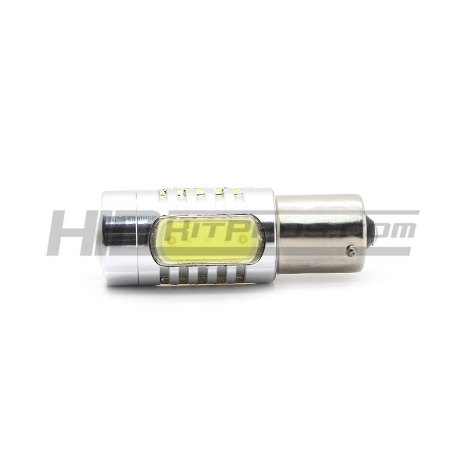 Clearance 1156 Ba15s Cob Led Bulb Hid Kit Pros 2x 7506 P21w 7527 Light Wire Wiring Harness Socket