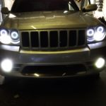 Jeep SRT8 HID Fog Lights with Switchback LEDs and White Halos