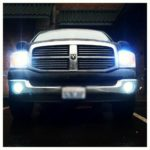 Dodge Ram 1500 8000k HID Xenon Headlights and Fog Lights
