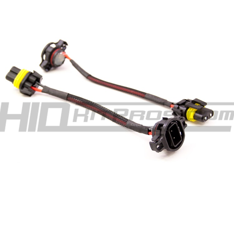 5202 2504 hid bulb wiring harness pigtail socket