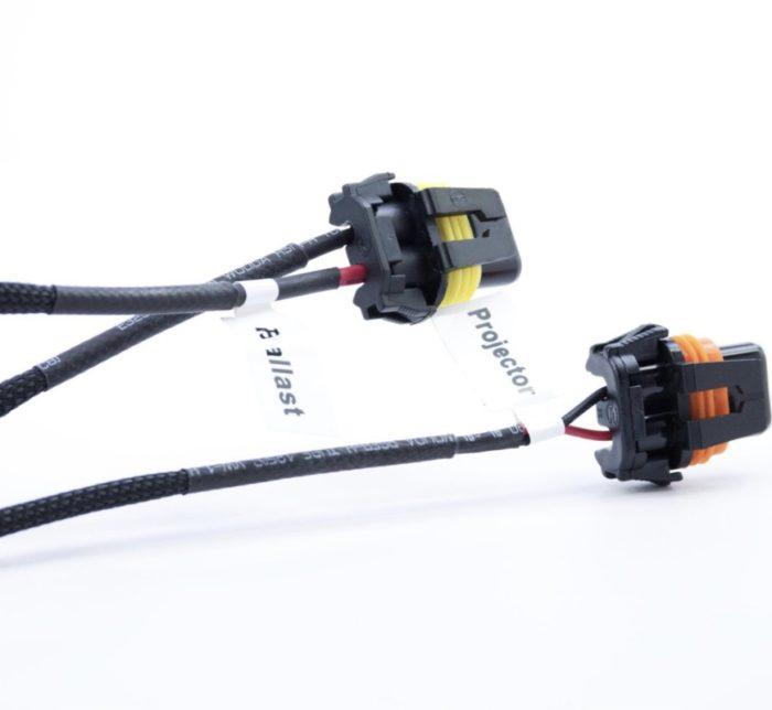 H4 Morimoto MotoControl Bixenon Wiring Harness
