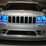Jeep SRT8 Projector Retrofit with Demon Angel Eyes