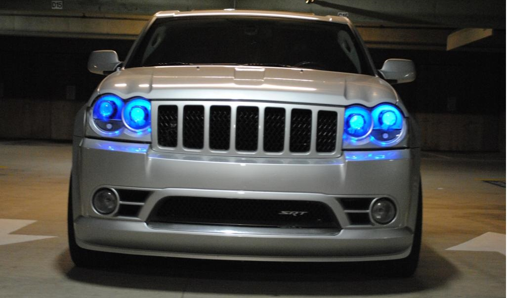 Jeep SRT8 Projector Retrofit