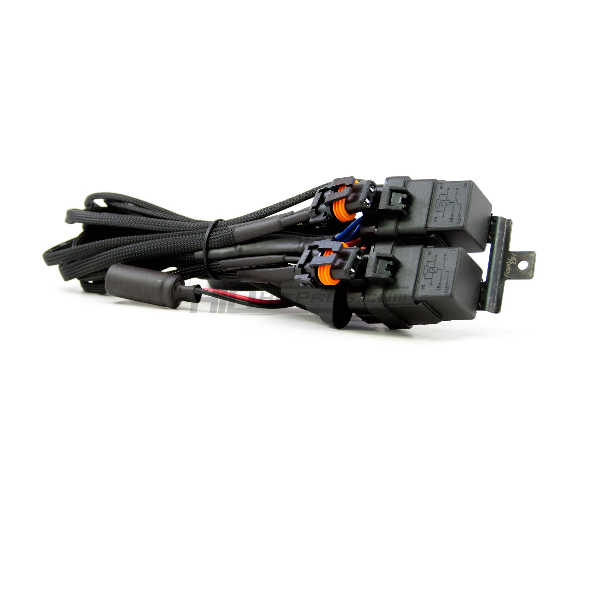 morimoto anti flicker low beam hid relay wiring harness hid kit pros rh hidkitpros com  hid relay wiring harness