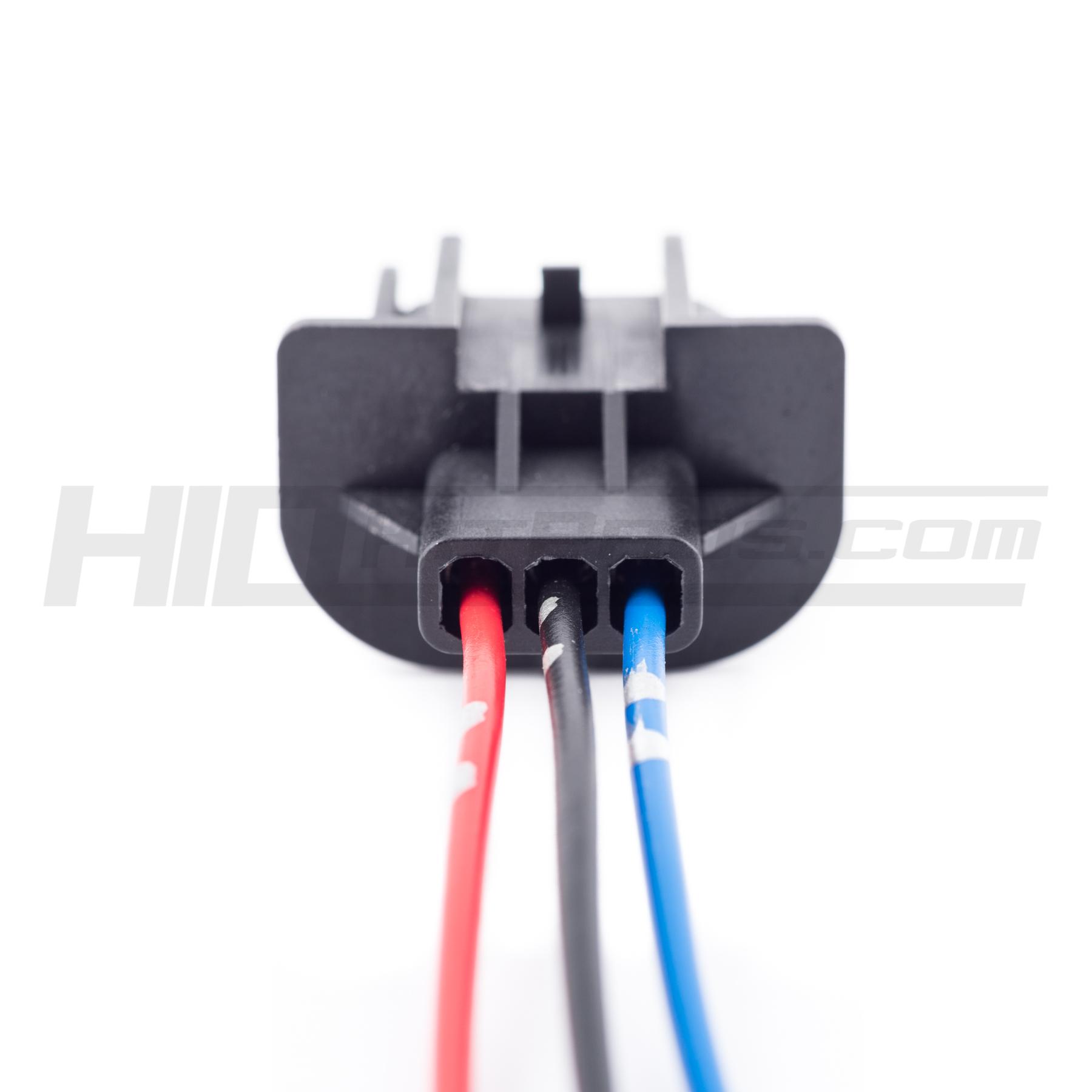 20161203 DSC_8715 h13 9008 headlight wiring socket adapter male & female