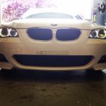 BMW 550i LED Halos Installed