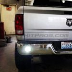 2014 Dodge Ram 2500 CREE 16W High Power Flush Mounts