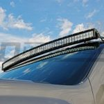 50 Inch Curved TOTRON LED Light Bar Mounted Chevrolet Silverado 70507