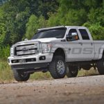 Ford Superduty F Series LED Light Bar Roof Mounted