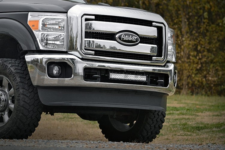 Ford super duty light bar bumper mount 20 inch hid kit pros ford super duty light bar bumper aloadofball Image collections