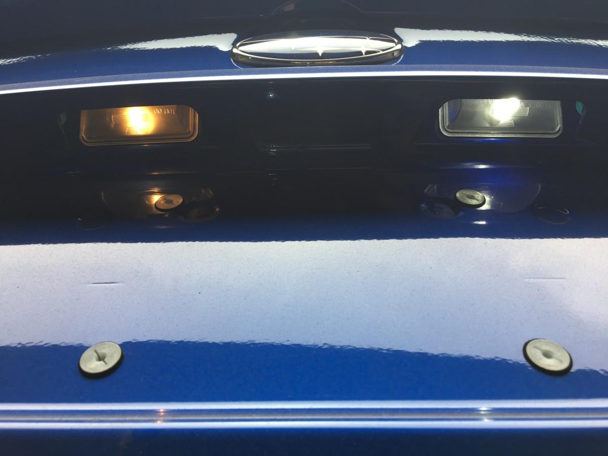 2018 subaru electric. contemporary electric subaru incandescent vs led license plate lights on 2018 subaru electric