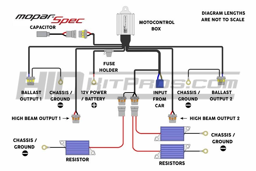 Xentec bi xenon wiring diagram 5 9004 Headlight Wiring Diagram H4 Bi-Xenon Wiring-Diagram HID Headlight Wiring Kit