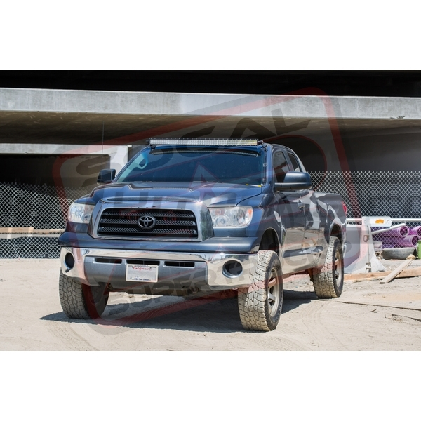 2007 2019 toyota tundra light bar roof mount brackets curved rh hidkitpros com 2015 Toyota Tundra Roof Rack Toyota Tundra LED Lights