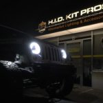 Jeep Rubicon VisionX LED Headlights & TOTRON LED Rock Lights