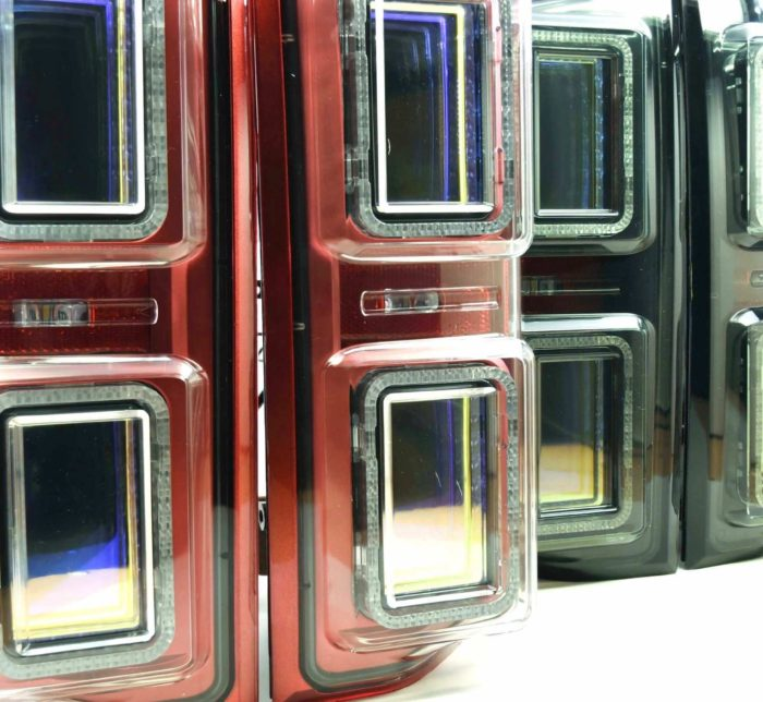 Ford F150 LED Taillight Housings